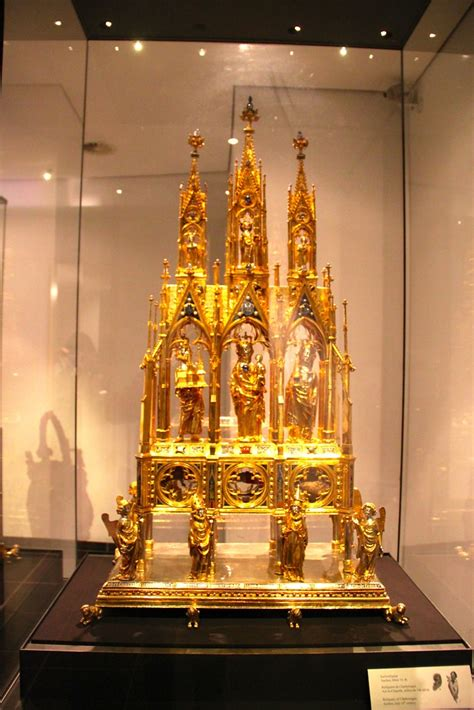 Charlemagne Reliquary in Aachen Cathedral Treasury | Flickr