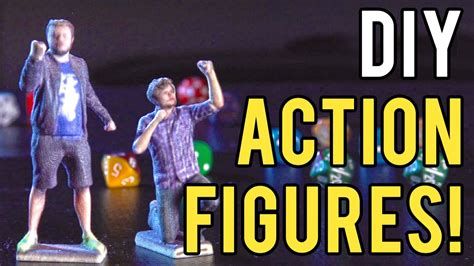 DIY Action Figures with 3D printing! - YouTube