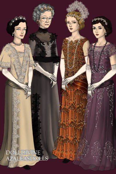 """dolldivineblog: """"Downton Abbey by AndraB Made with LotR"""
