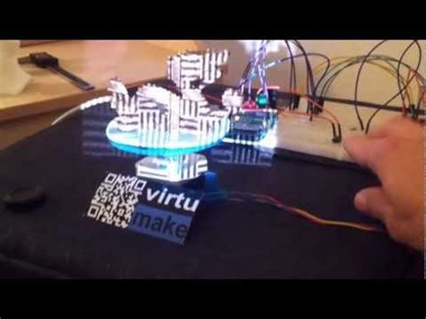 David 3D-Scanner with a DIY Arduino Turntable - YouTube