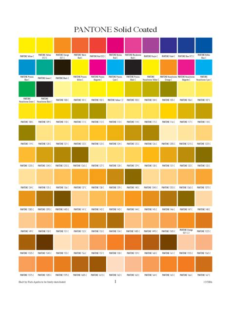 Color Chart Templates - 53 Free Templates in PDF, Word