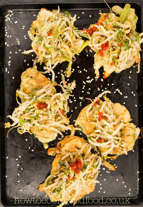 Korean style pancakes created by How to cook good food