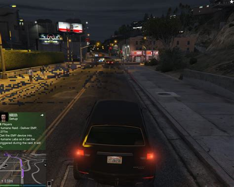 grand theft auto 5 - Blocky graphical issues and missing
